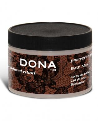 Dona by jo bath milk 8 oz - pomegranate