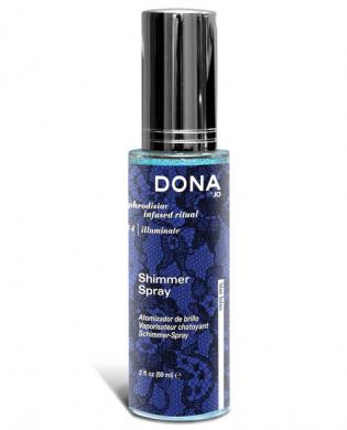 Dona by jo  shimmer spray 2 oz - blue lotus