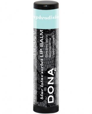 Dona by jo  lip balm .5 oz - blue lotus sorbet