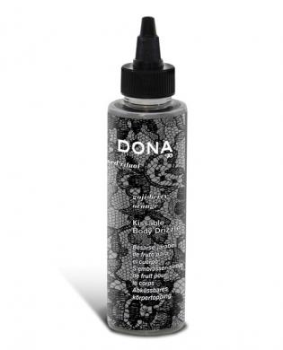 Dona by jo kissable body drizzle 4.25 oz - goji berry peach melba