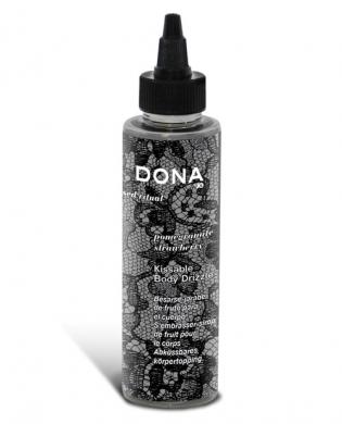 Dona by jo kissable body drizzle 4.25 oz - pomegranate martini