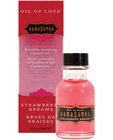 Kama sutra petite oil of love - strawberry .75 oz (clear packaging)