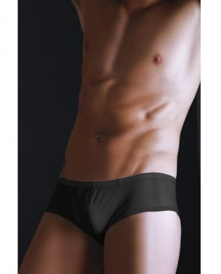 Male basics tulle hip-hugger black l/xl