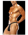 Male power mens bong thong black s/m