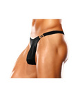 Male power mens bong clip thong black s/m