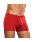 100% silk pouch short red md