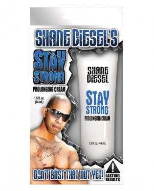 Shane Diesel's Stay Strong - Prolonging Cream