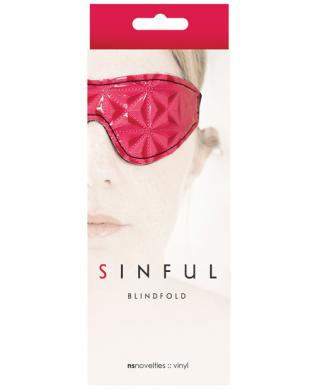 Ns novelties sinful blindfold Sex Toy Product