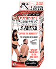 Dominant submissive collection - 2 cuffs and a collar Sex Toy Product