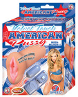 Velvet touch all american pussy w/bullet