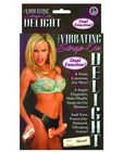 Vibrating strap on delight