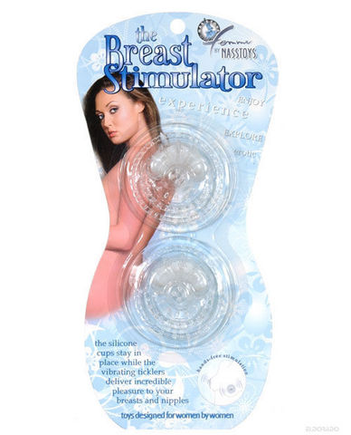 The breast stimulator - clear Sex Toy Product