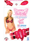 Mini butterfly clit teaser - pink