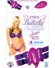 Mini butterfly clit teaser - purple