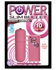 Power slim bullet remote control - pink Sex Toy Product