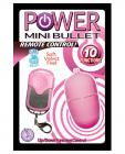 Power mini bullet remote control - 10 function - pink Sex Toy Product