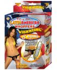 Latin american whoppers 8in dong w/universal harness - latin