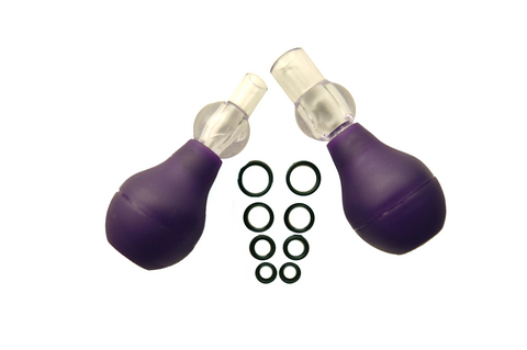 Fetish fantasy nipple erector set - purple