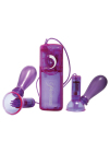 Vibrating Nipple Pumps Purple	 Sex Toy Product