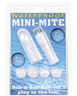 Waterproof mini-mite massager w/sleeve