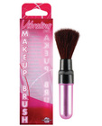 Vibrating mini makeup brush - pink