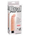 Real feel no. 6  long 8in waterproof vibe - multi speed
