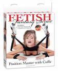 Fetish fantasy series position master w/cuffs