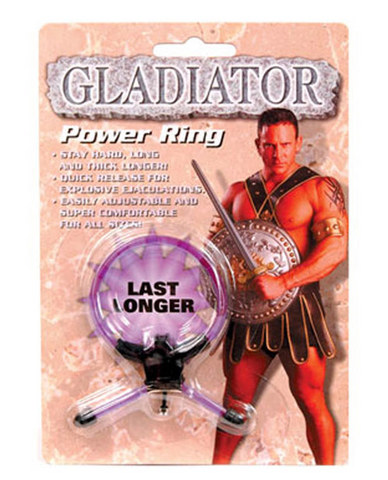 Gladiator power ring - purple