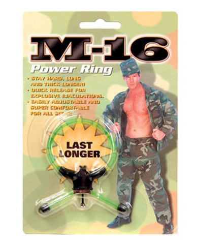 M-16 Power Ring Green