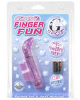 Waterproof finger fun g-spot - purple