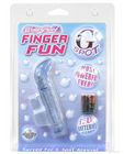 Waterproof finger fun g-spot - blue
