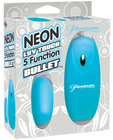 Neon luv touch bullet - 5 function blue Sex Toy Product