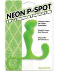 Neon luv touch p-spot stimulator - green