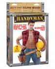 Construction worker doll