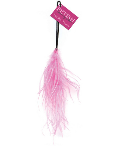Fetish fantasy series feather teaser - pink