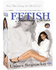 Fetish fantasy series unisex straitjacket - white