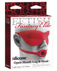 Fetish Fantasy Elite Large Open-Mouth Gag &amp; Mask