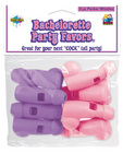 Bachelorette party whistles - pink and purple pack of 8