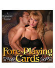 Fore-playing cards game