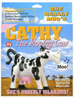 Inflatable cathy the mooing cow