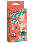 26in travel-size granny love doll