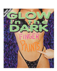 Glow in the dark fingerpaints