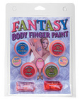 Fantasy body finger paints