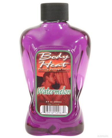 Body heat lotion - watermelon 8 oz