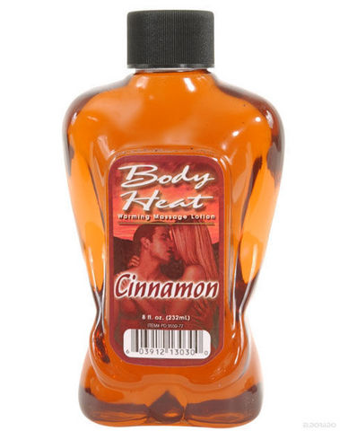 Body heat lotion - cinnamon 8 oz