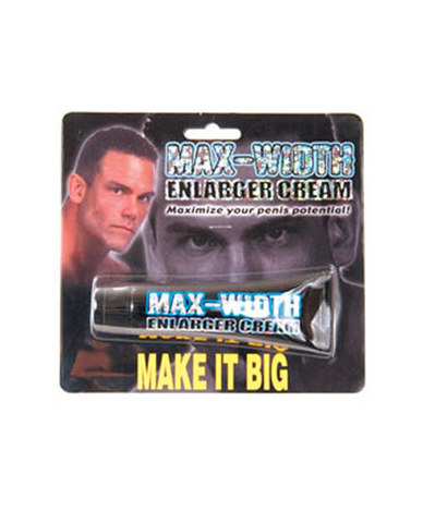 Max width enlarger cream - 1.5 oz Sex Toy Product