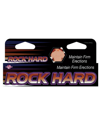Rock hard maintain firm erections 1.5oz
