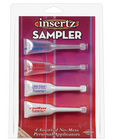 Insertz sampler - 4 assorted personal applicators