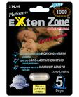 Extenzone platinum 1900 1 capsure blister pack