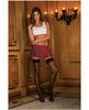 Rene rofe school girl mini skirt plaid red md